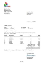 Offertenvorlage 70 Weniger Zeitaufwand Download Jetzt Kostenlos